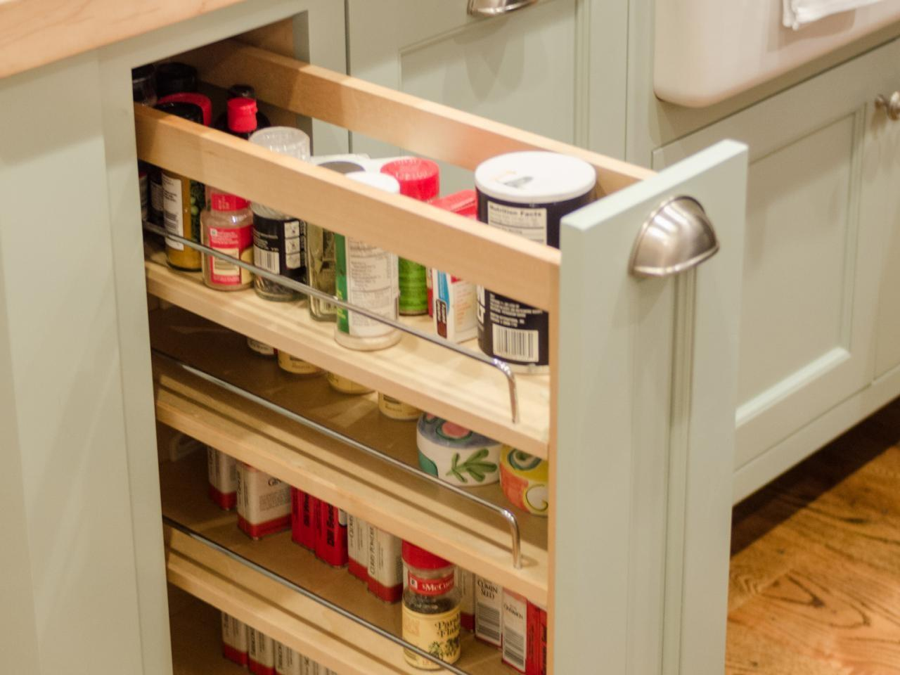 Spice Racks Kitchen Cabinets Options Tips