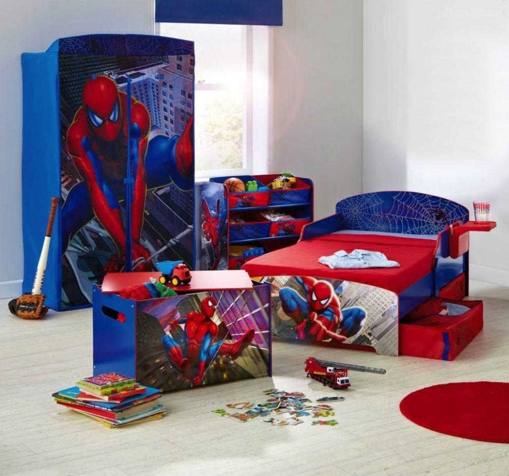 Spiderman Toddler Bed Boys Bedroom Set