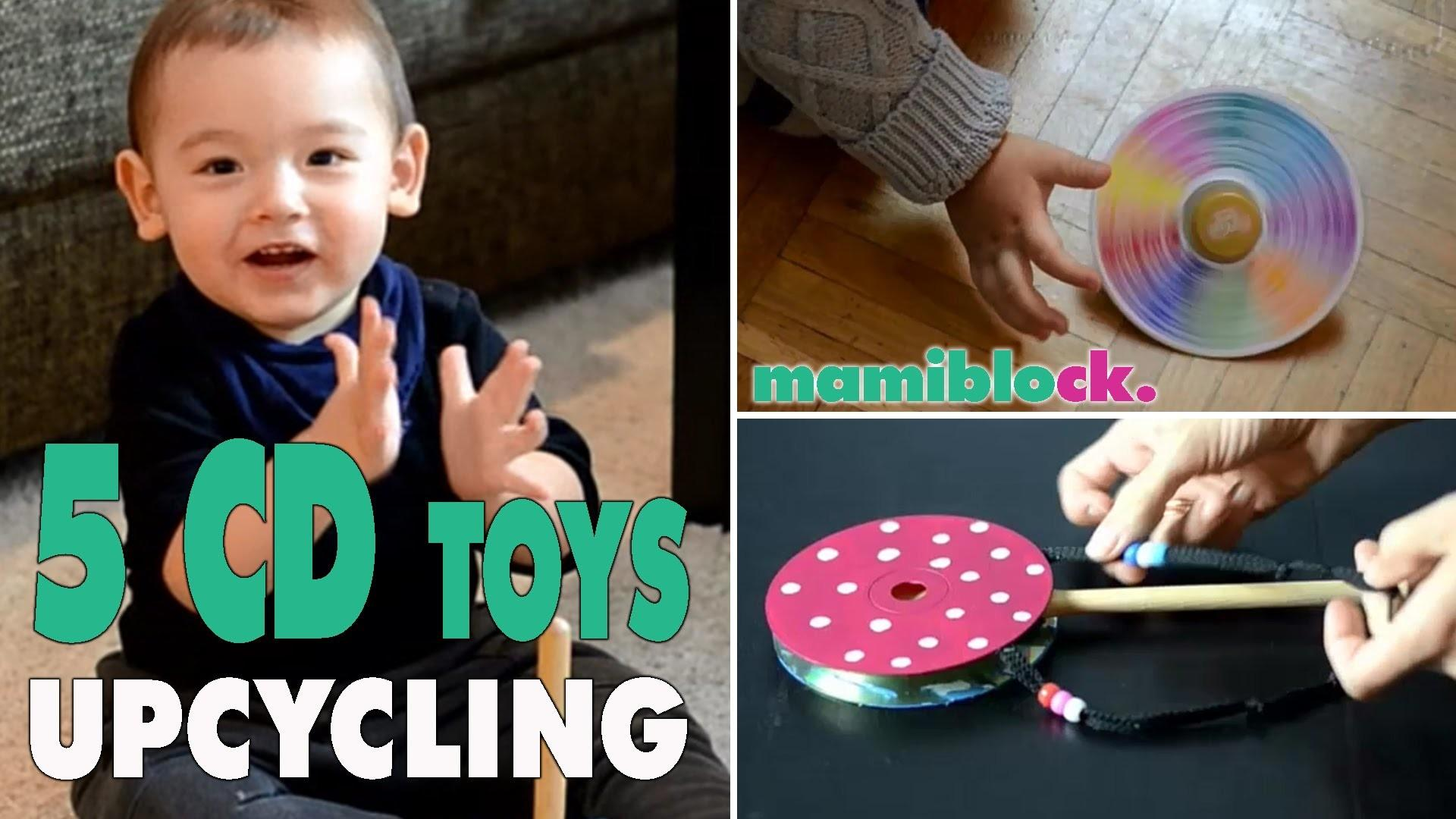 Spielzeuge Aus Alten Cds Upcycling Diy Toys