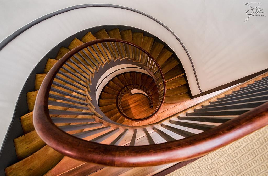 Spiral Staircase Wooden Small