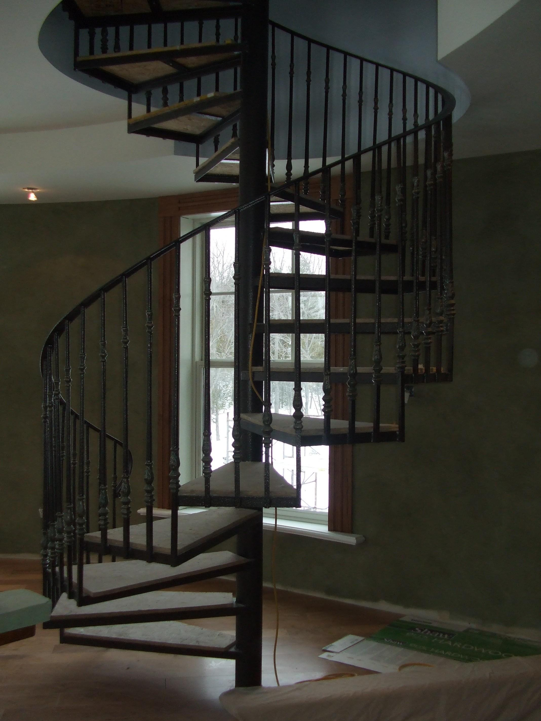 Spiral Staircases Custom Wrought Iron Design Fabrication