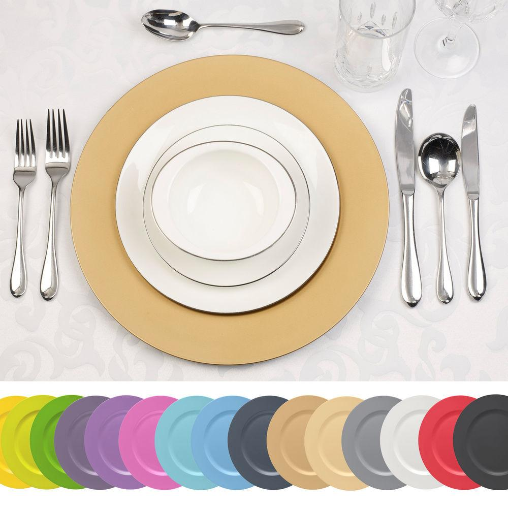 Spizy Decorative Charger Under Plates Dinner Dining