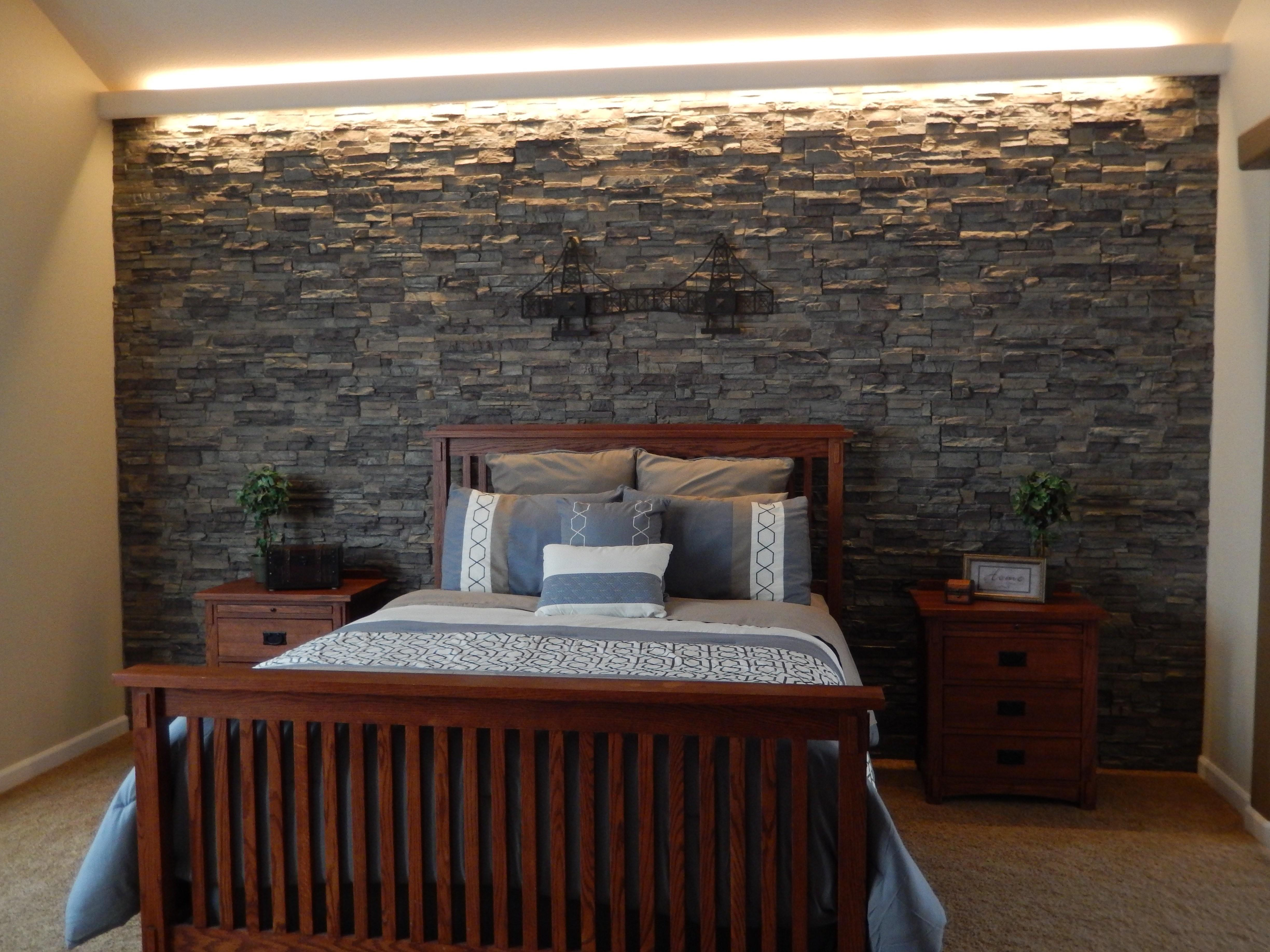 Splendid Stone Textured Accent Walls Creative Faux Panels
