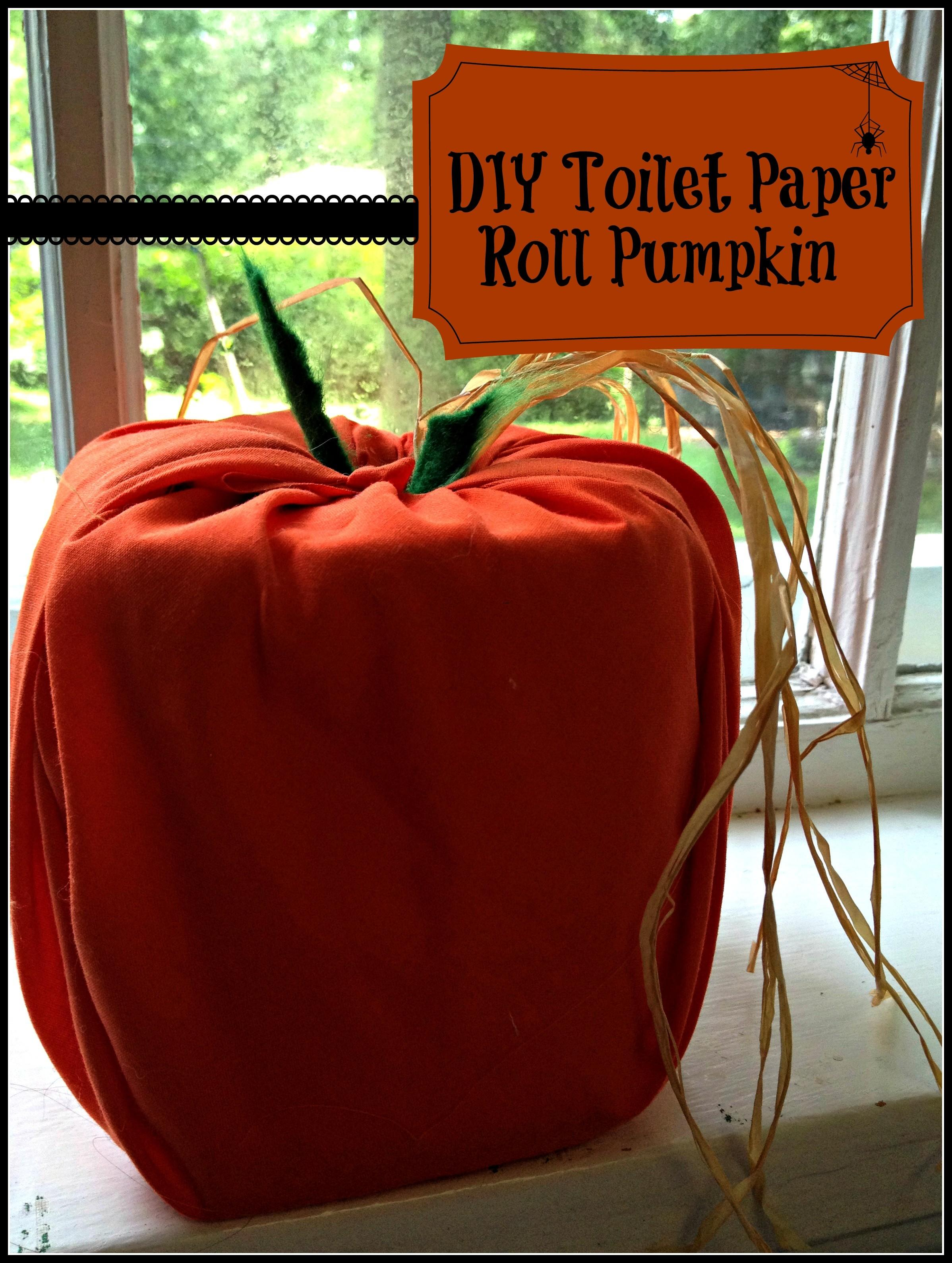 Spooky Diy Toilet Paper Roll Pumpkin Mommy Saves Money