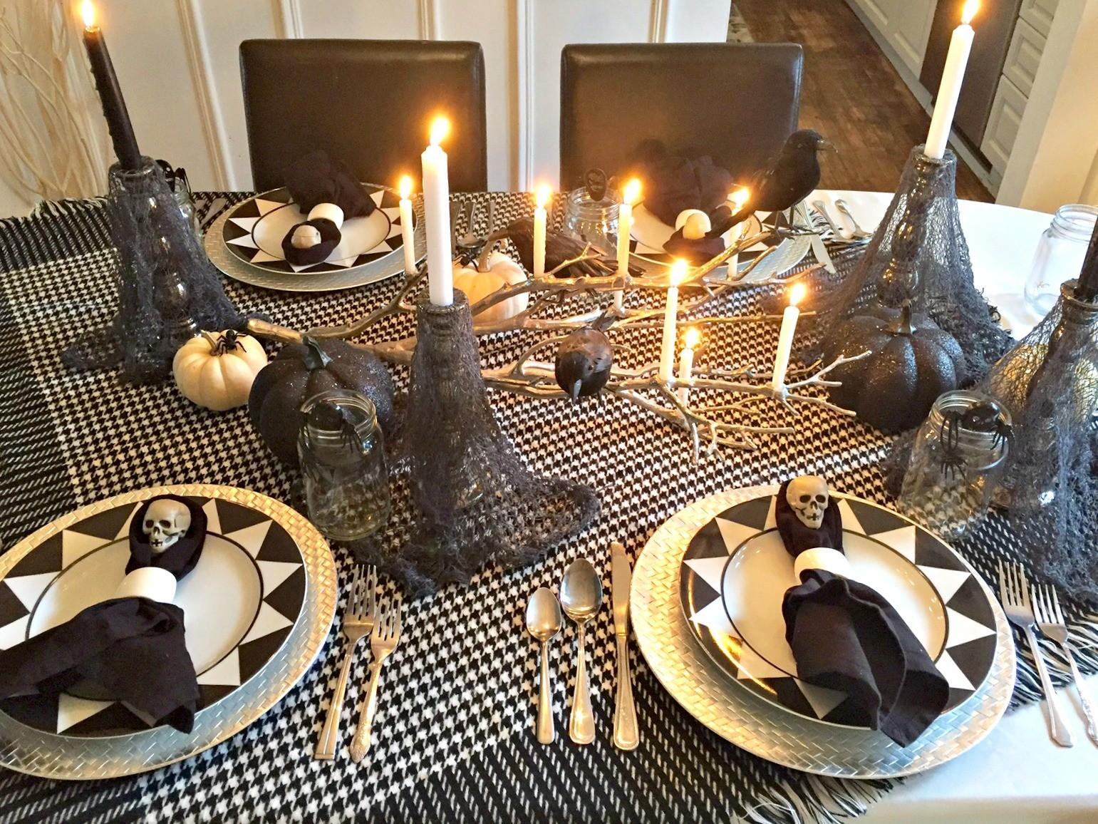 Spooky Halloween Tablescape Endlessly Inspired