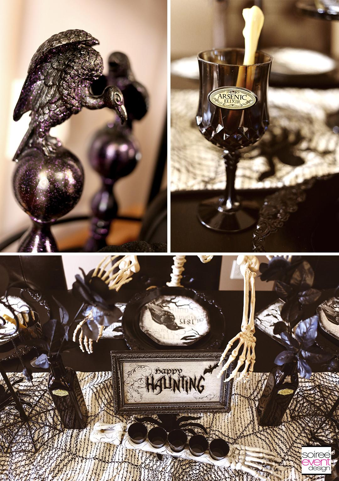 Spooky Soiree Halloween Dinner Party Event Design
