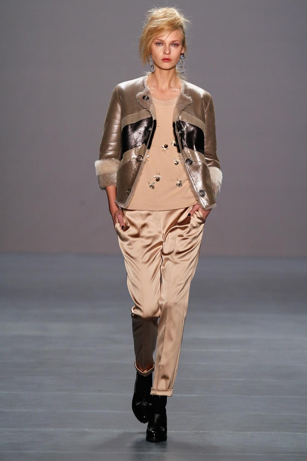 Sporty Glamor Marc Cain Fall Winter Collection 2018