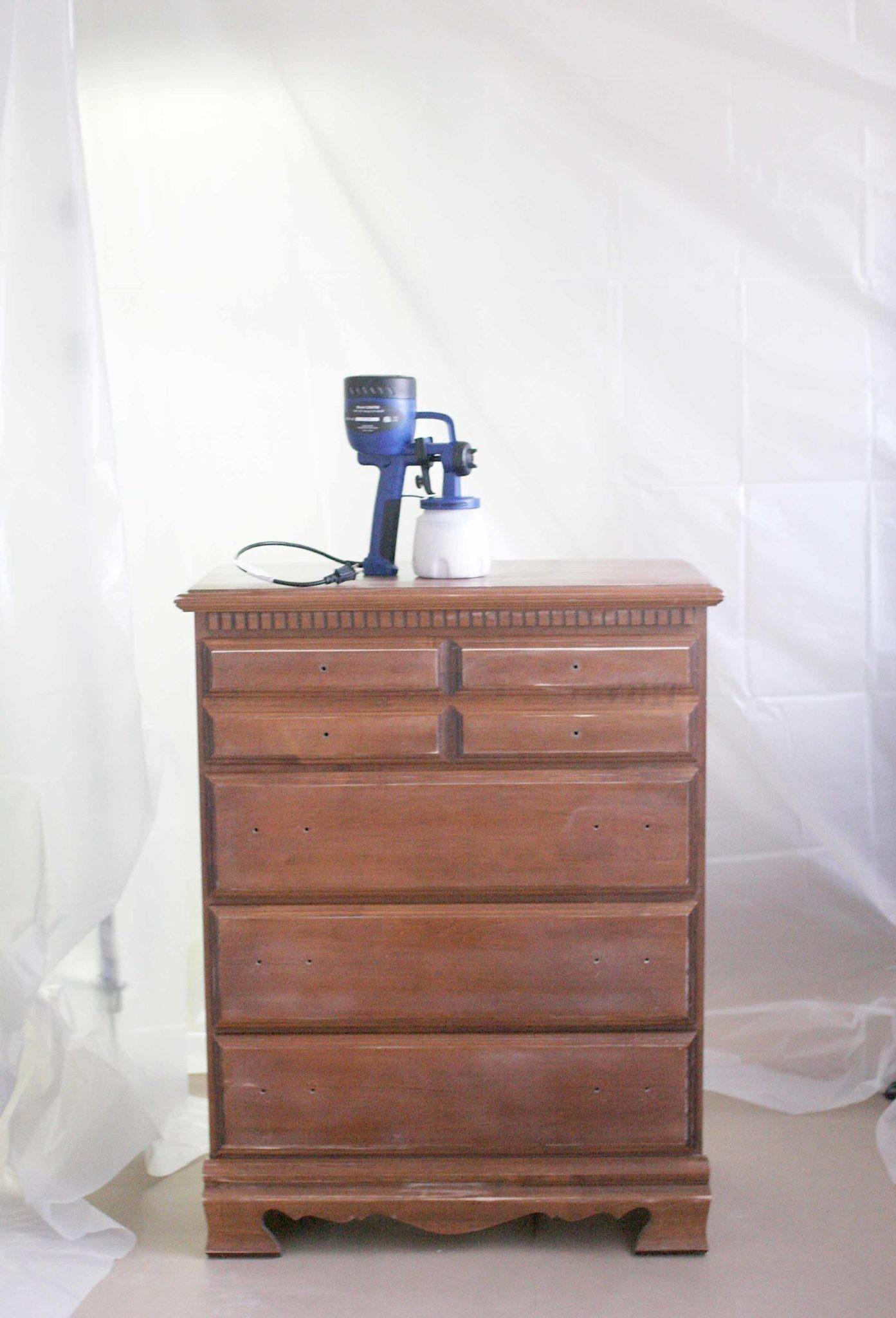 Spray Paint Indoors Diy Booth