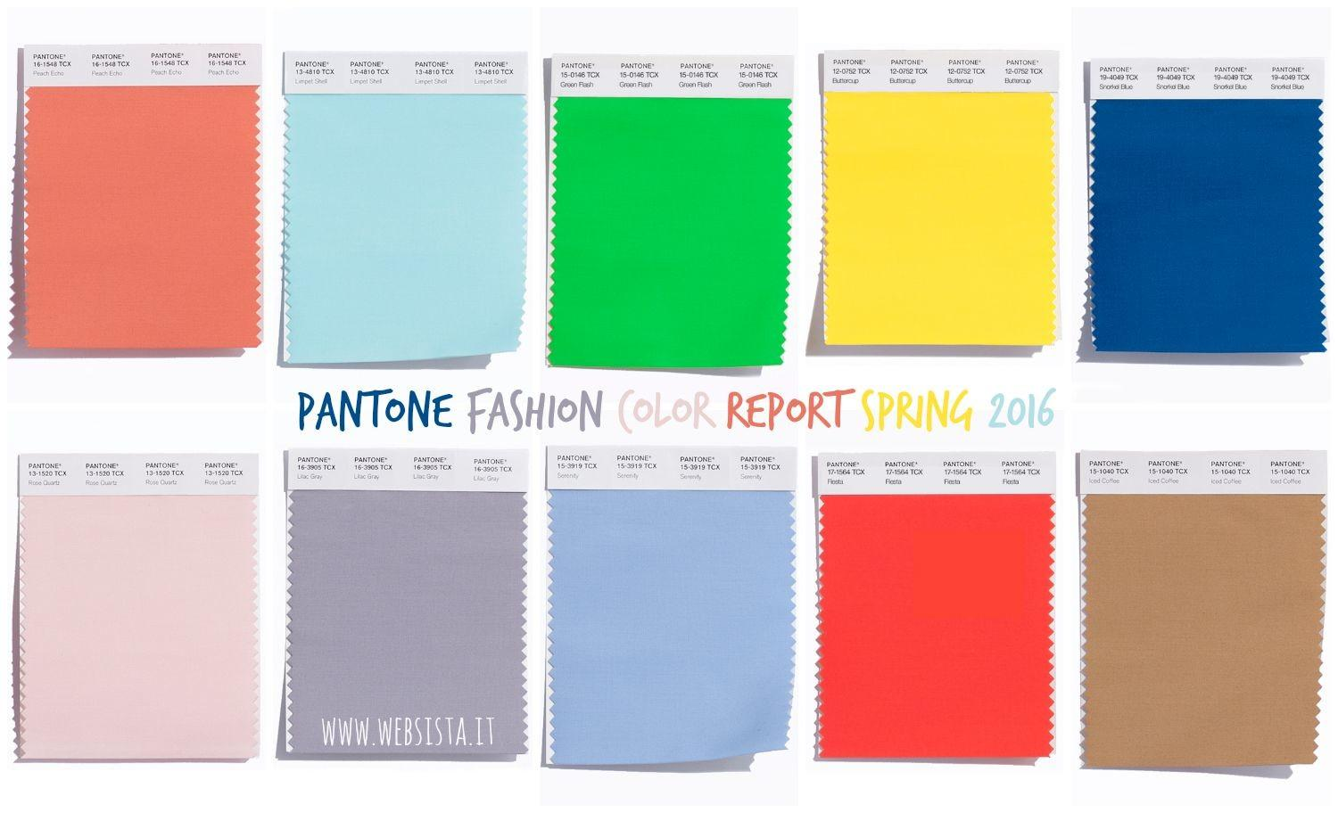 Spring 2016 Pantone Fashion Color Report New York Autos Post