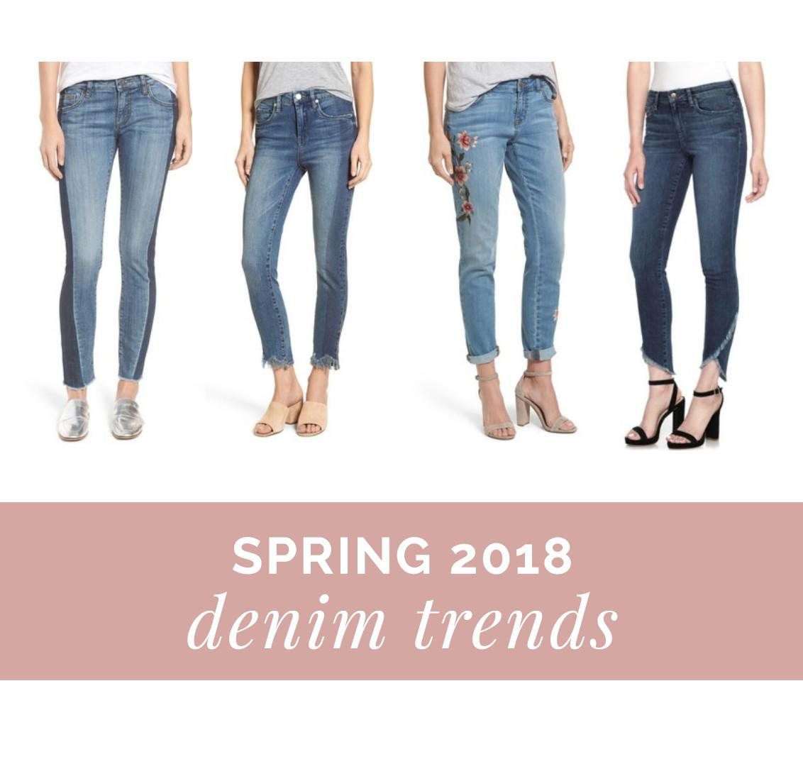 Spring 2018 Denim Trends Pairs Try Get Your Pretty