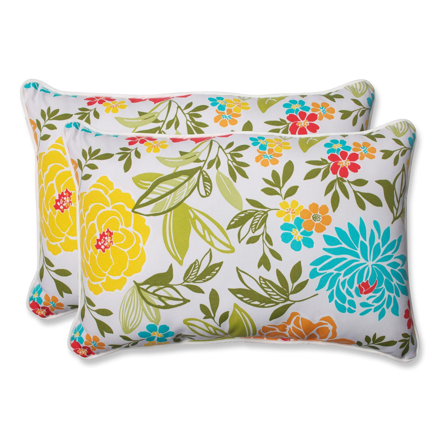 Spring Bling Multicolor Over Sized Rectangular Outdoor