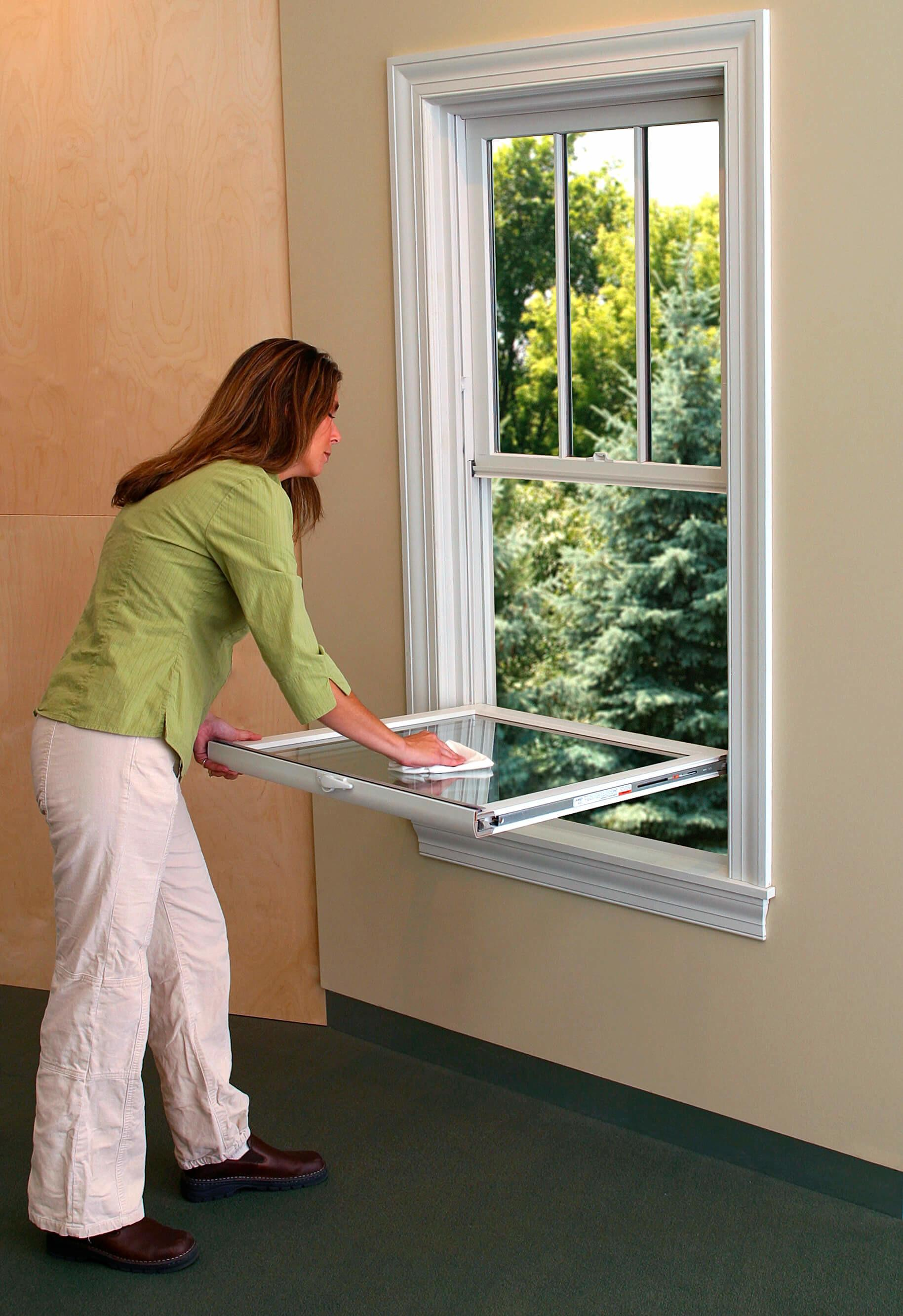 Spring Cleaning Tips Clean Double Hung Window