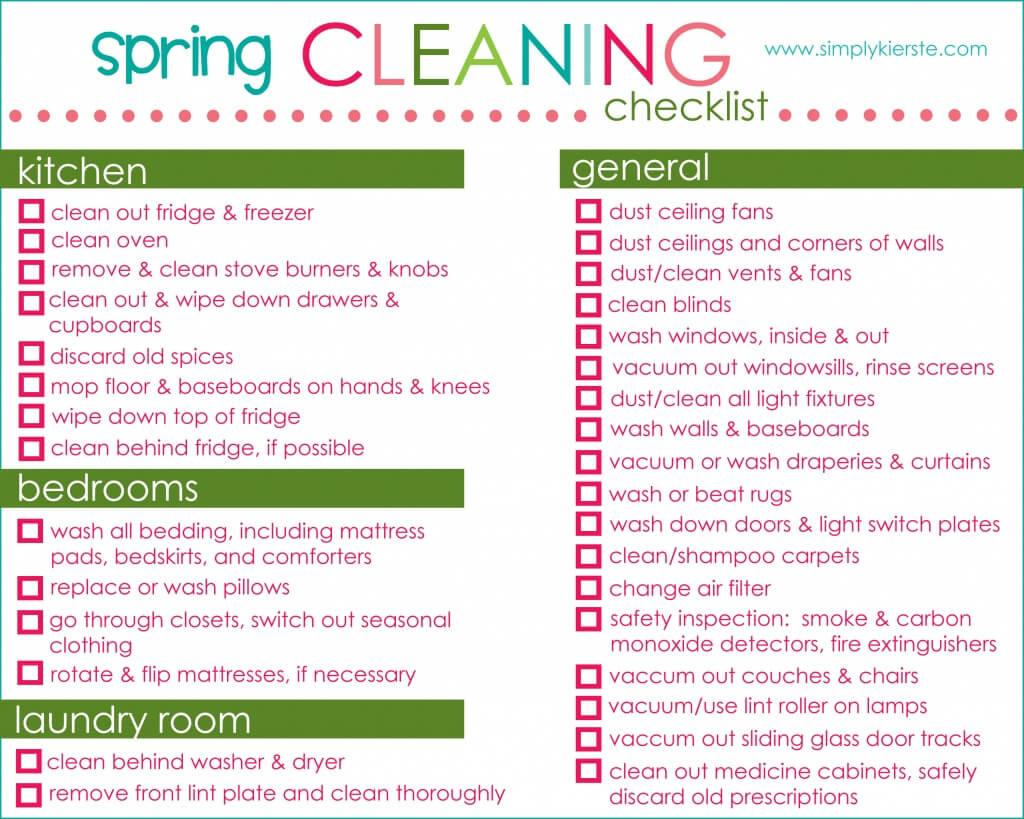 Spring Cleaning Tips Clean Like Boss