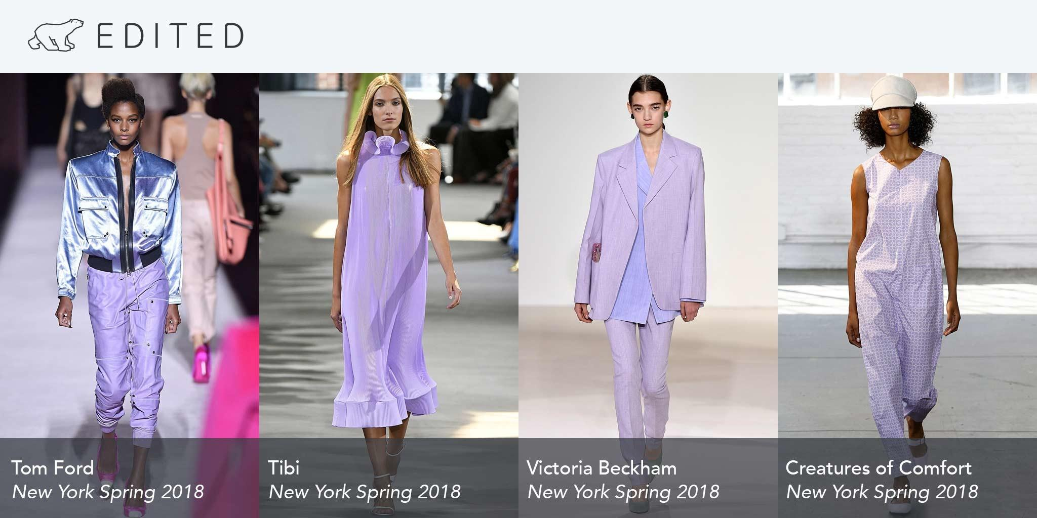 Spring Color Trends 2017 New York Fashion Week Data