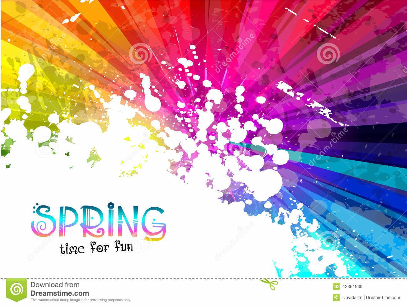 Spring Colorful Explosion Colors Your