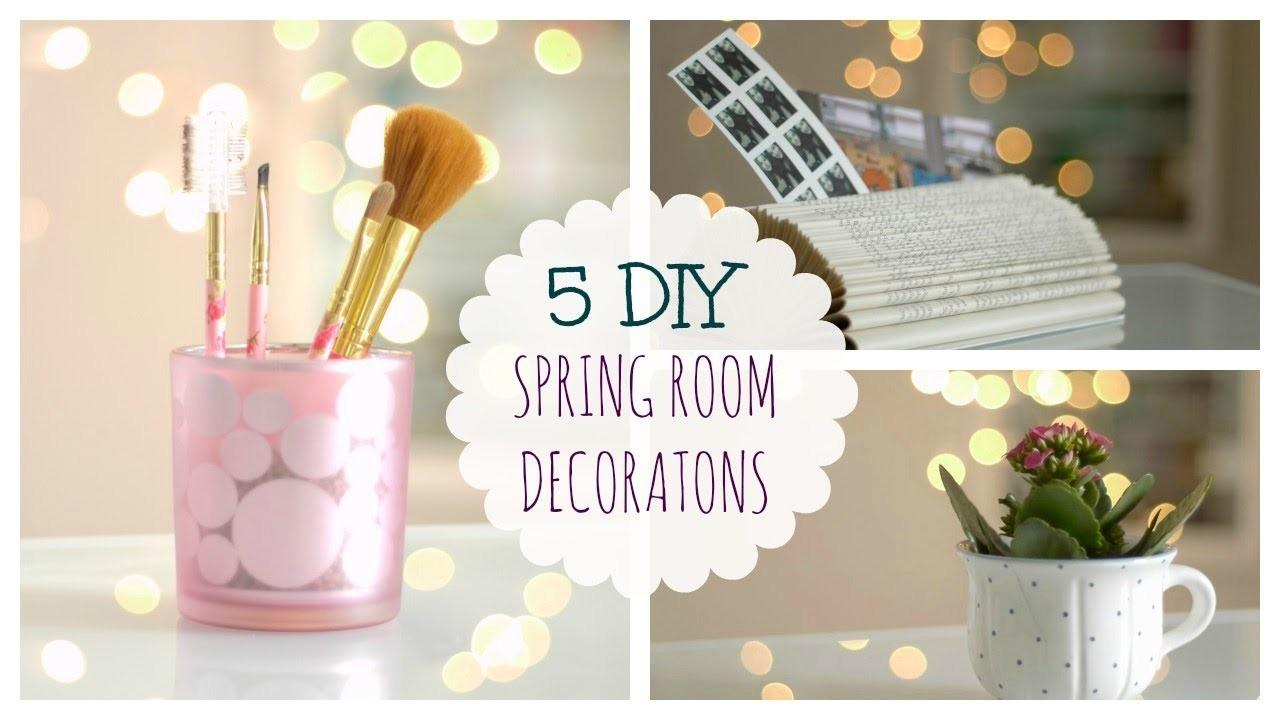 Spring Decorating Ideas Fast Easy