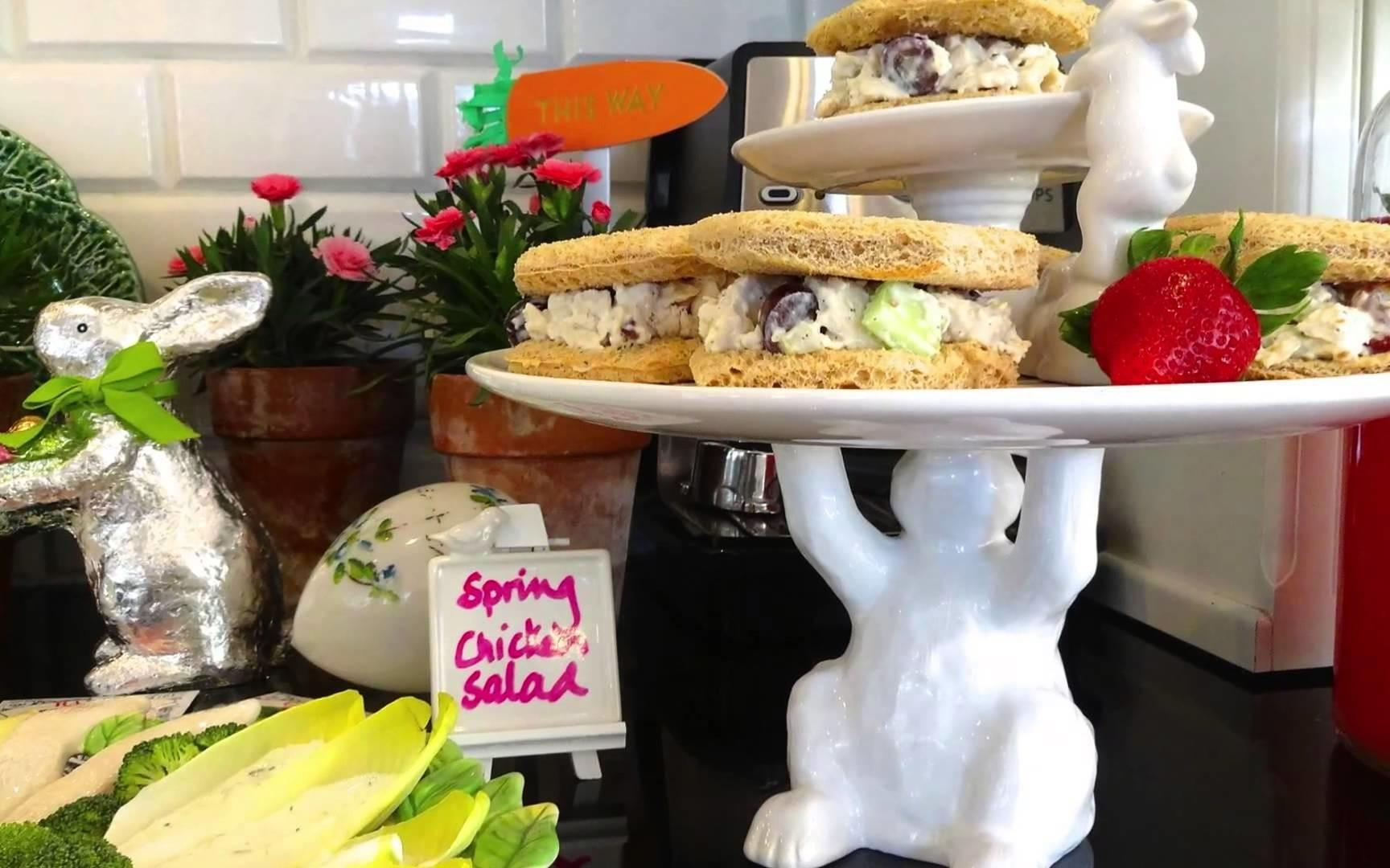 Spring Easter Party Food Decorating Ideas Featuring Our