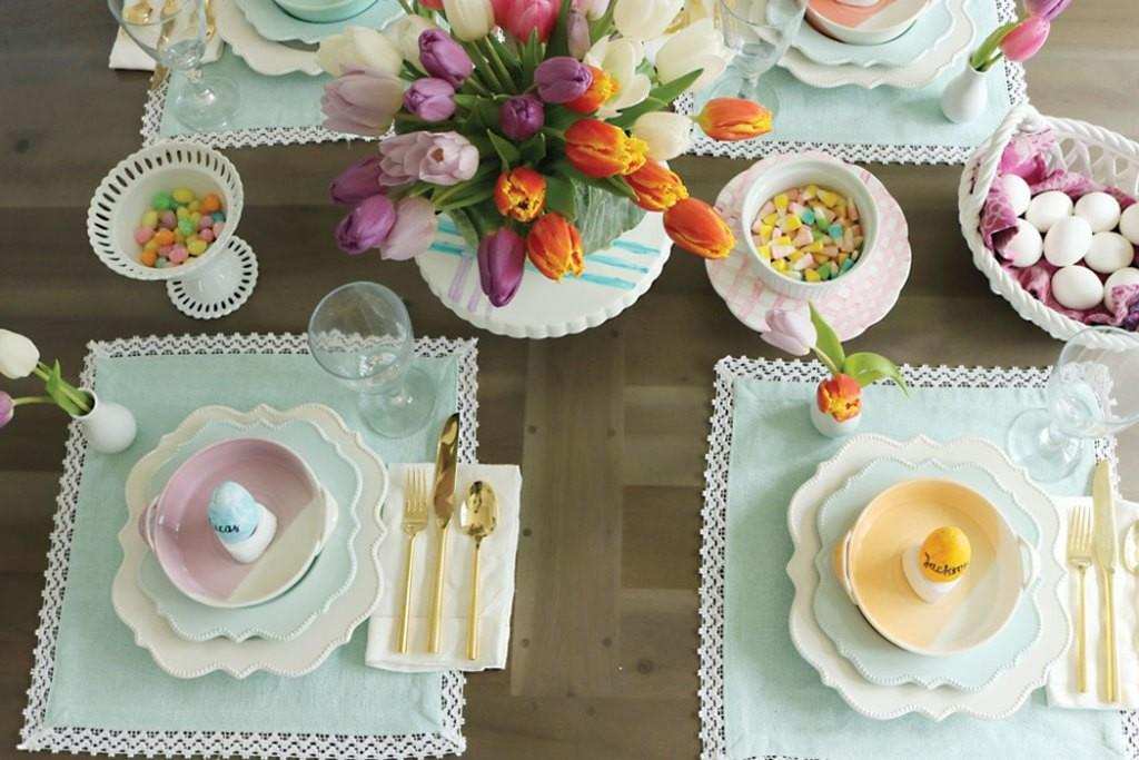 Spring Easter Table Decorations Darleen Meier Jewelry