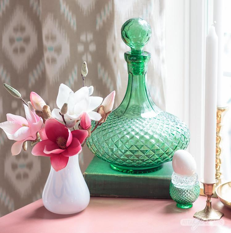 Spring Home Decorating Vintage Seasonal Touches