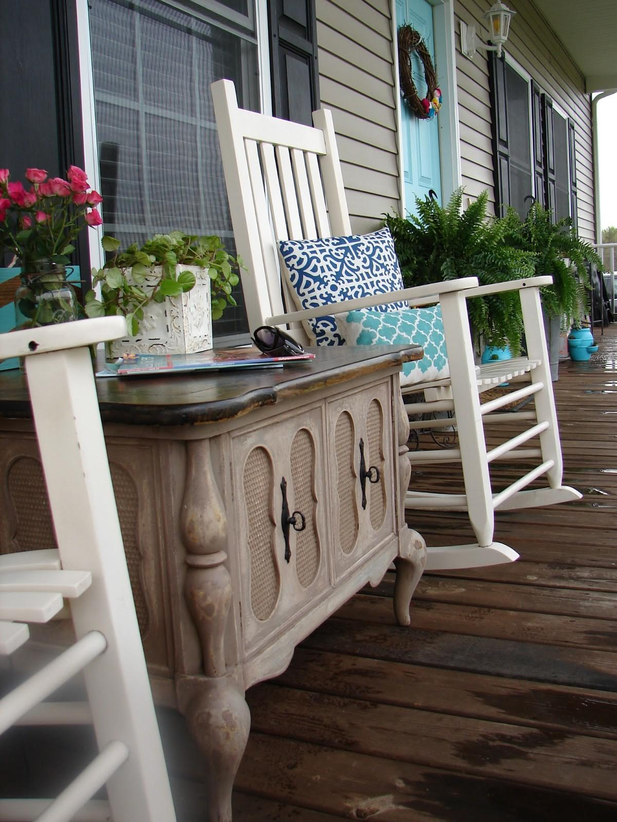 Spring Porch Patio Decor Inspirations Blissfully