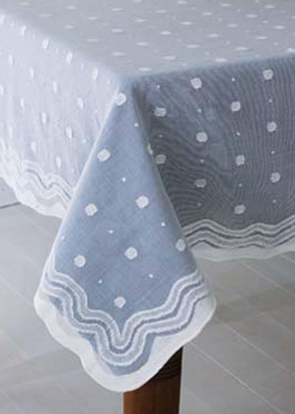 Spring Rain Madras Lace Tablecloths Runners Direct