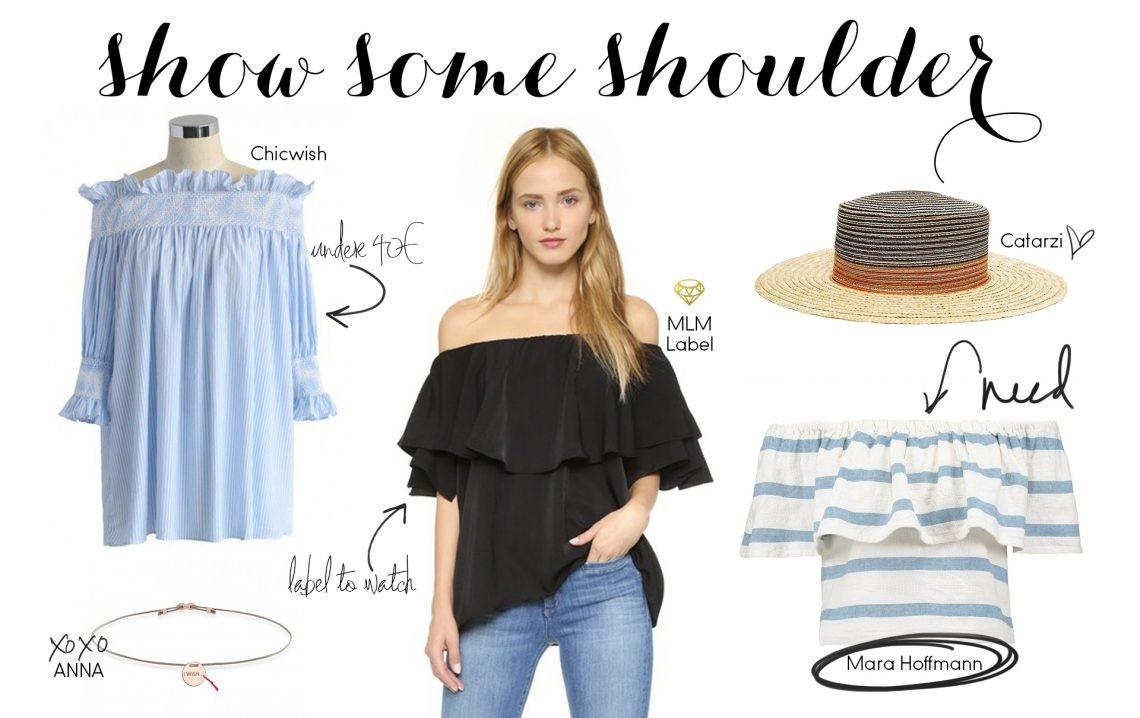 Spring Trend Shoulder Back Daily Dose