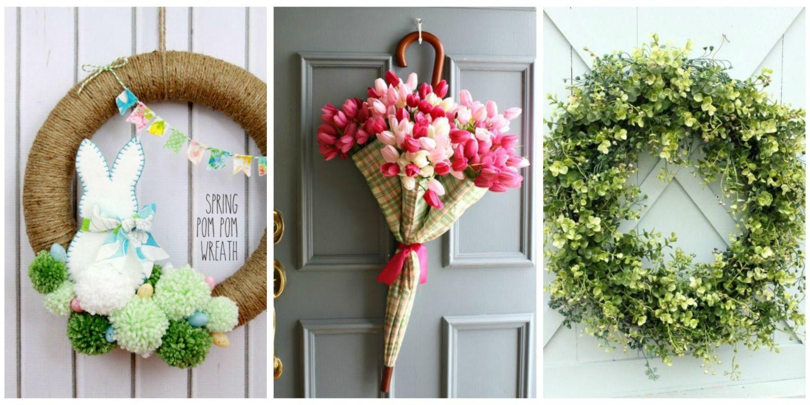 Spruce Your Front Door These Diy Wreath Ideas
