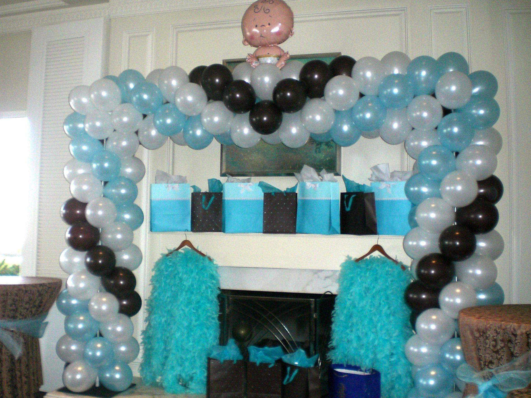 Square Arch Baby Shower Ritz Carlton Dana