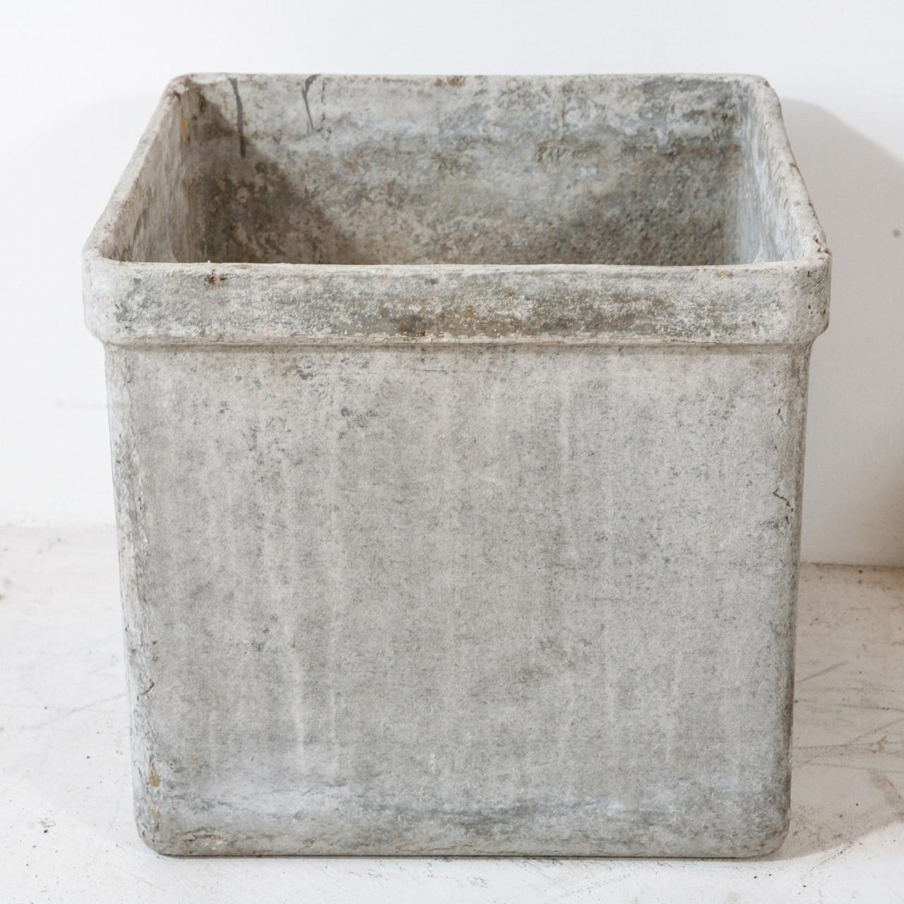 Square Concrete Planter Box Fiberglass