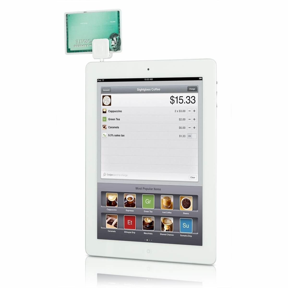 Square Credit Card Reader Iphone Ipad Ipod Touch Now