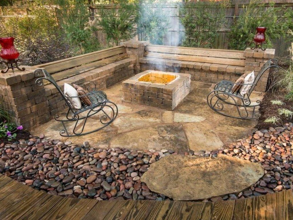 Square Fireplace Design Patio Ideas Antique Chairs