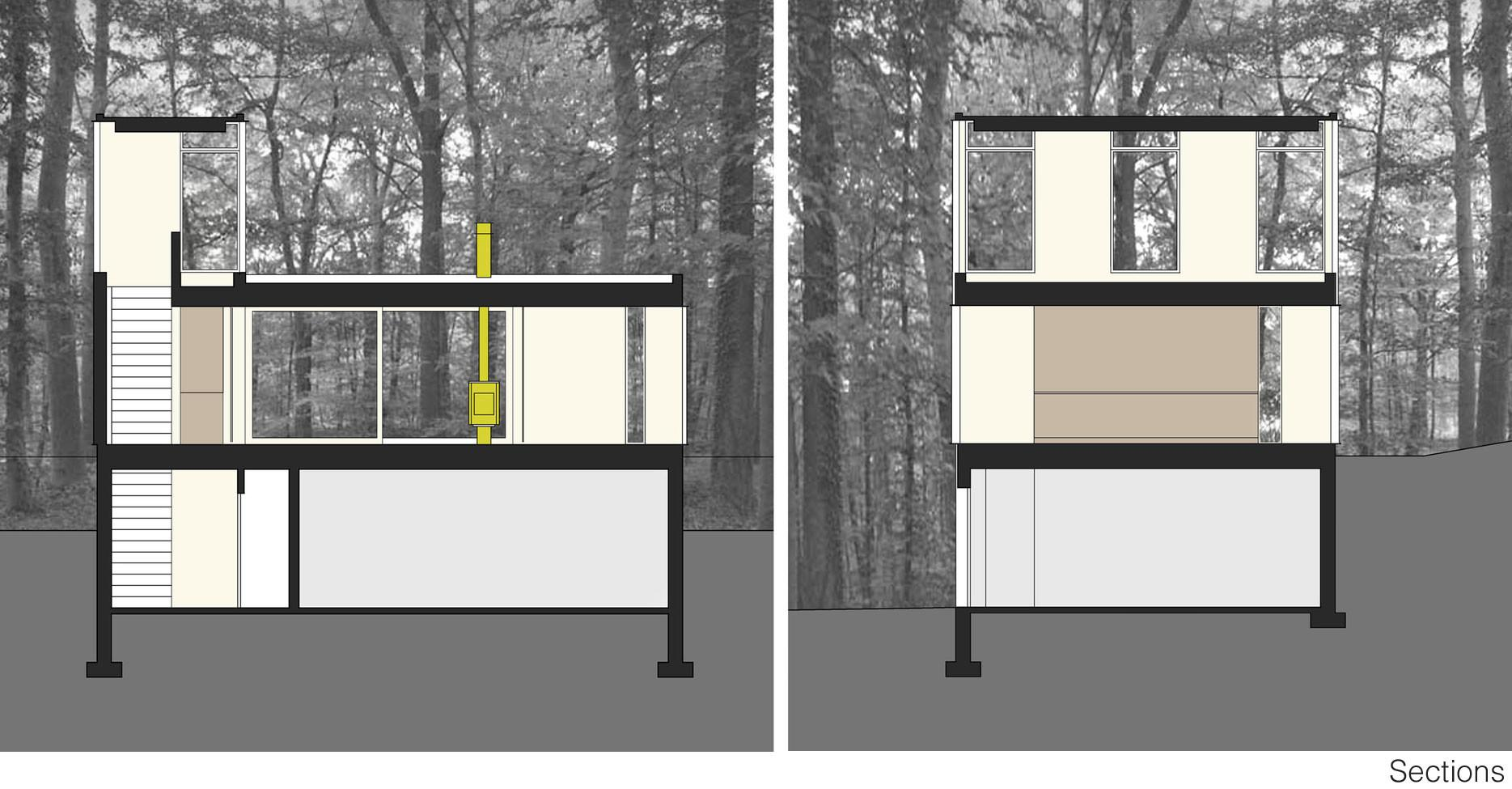 Stacked Cabin Designed Johnsen Schmaling Architects