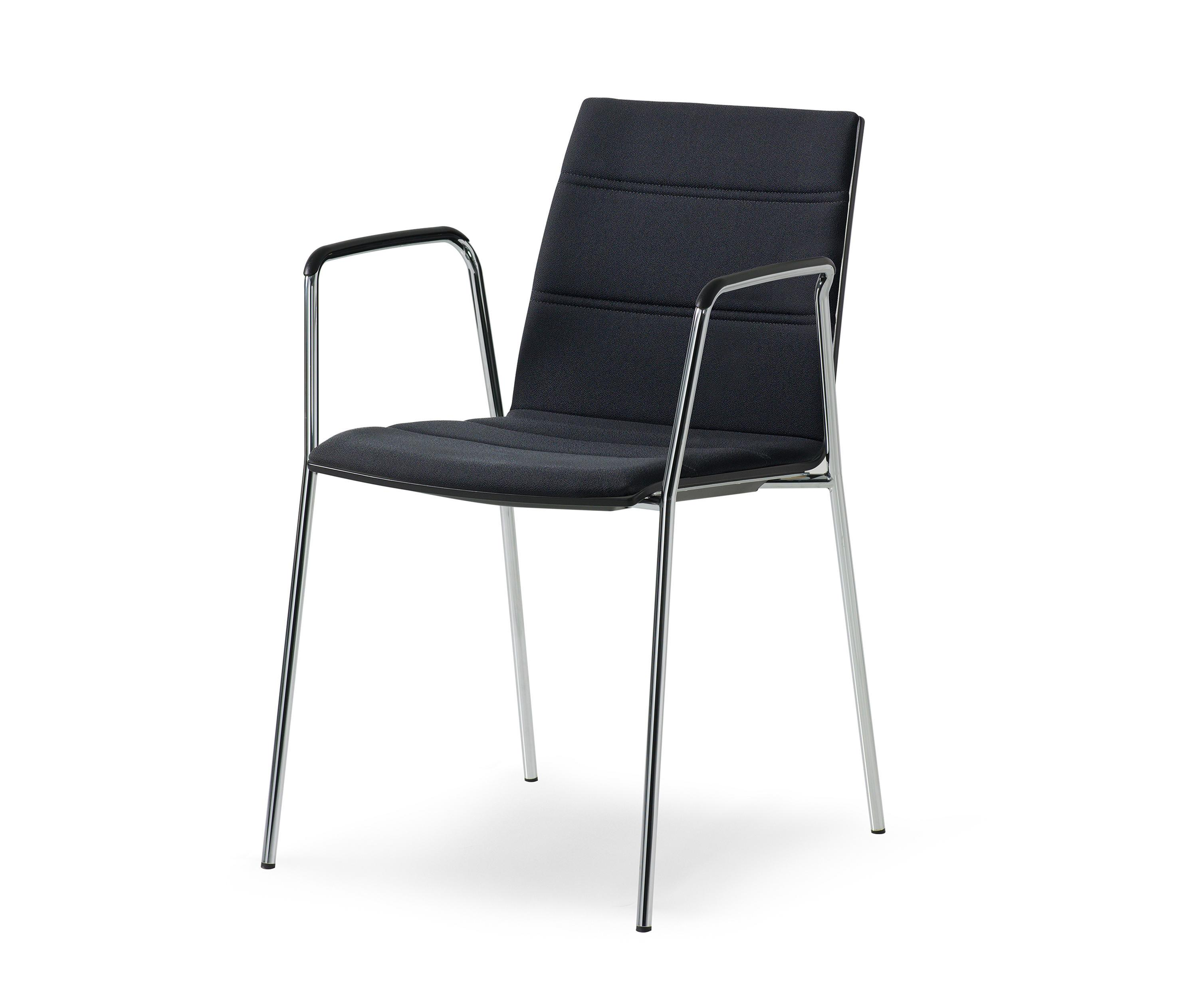 Stacking Chair Arms Visitors Chairs Side