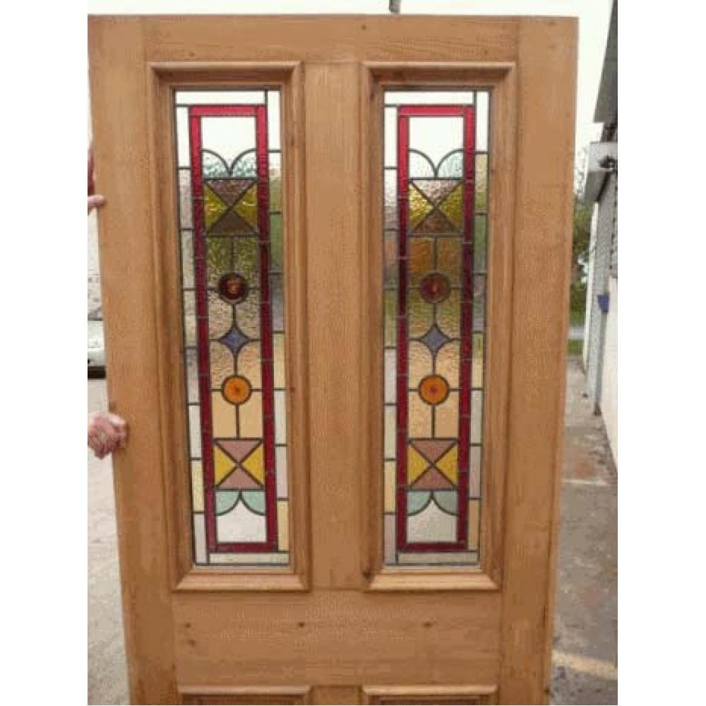 Stained Glass Exterior Doors Marceladick
