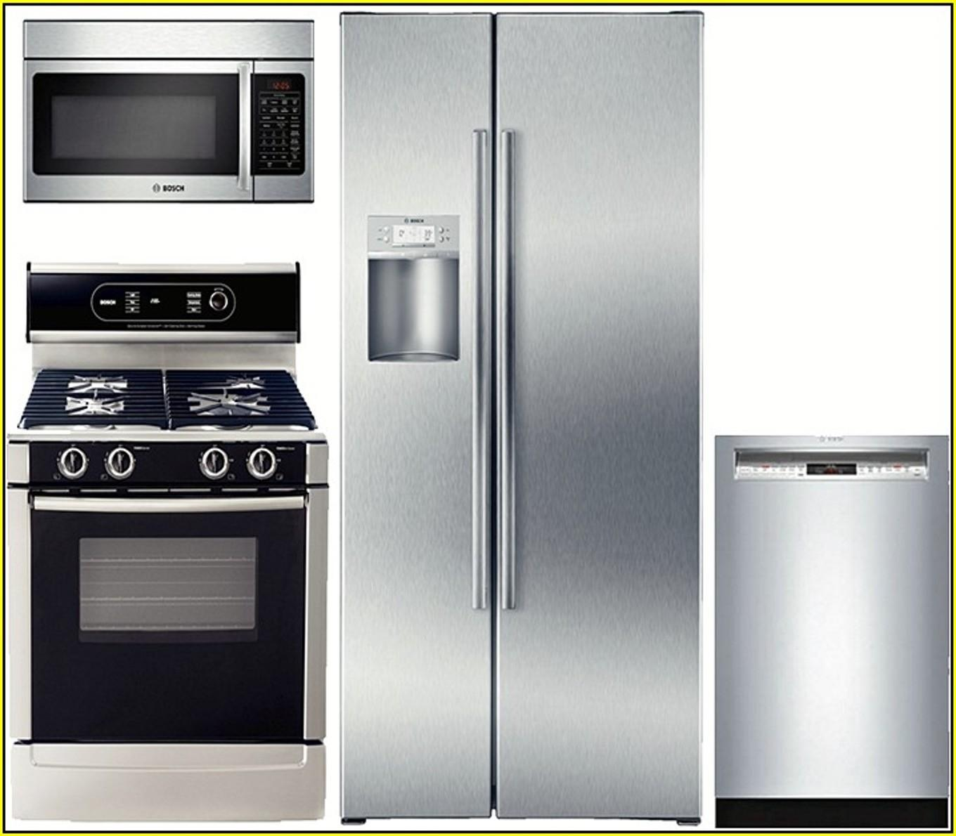 Stainless Kitchen Appliance Package Sale Home Depot