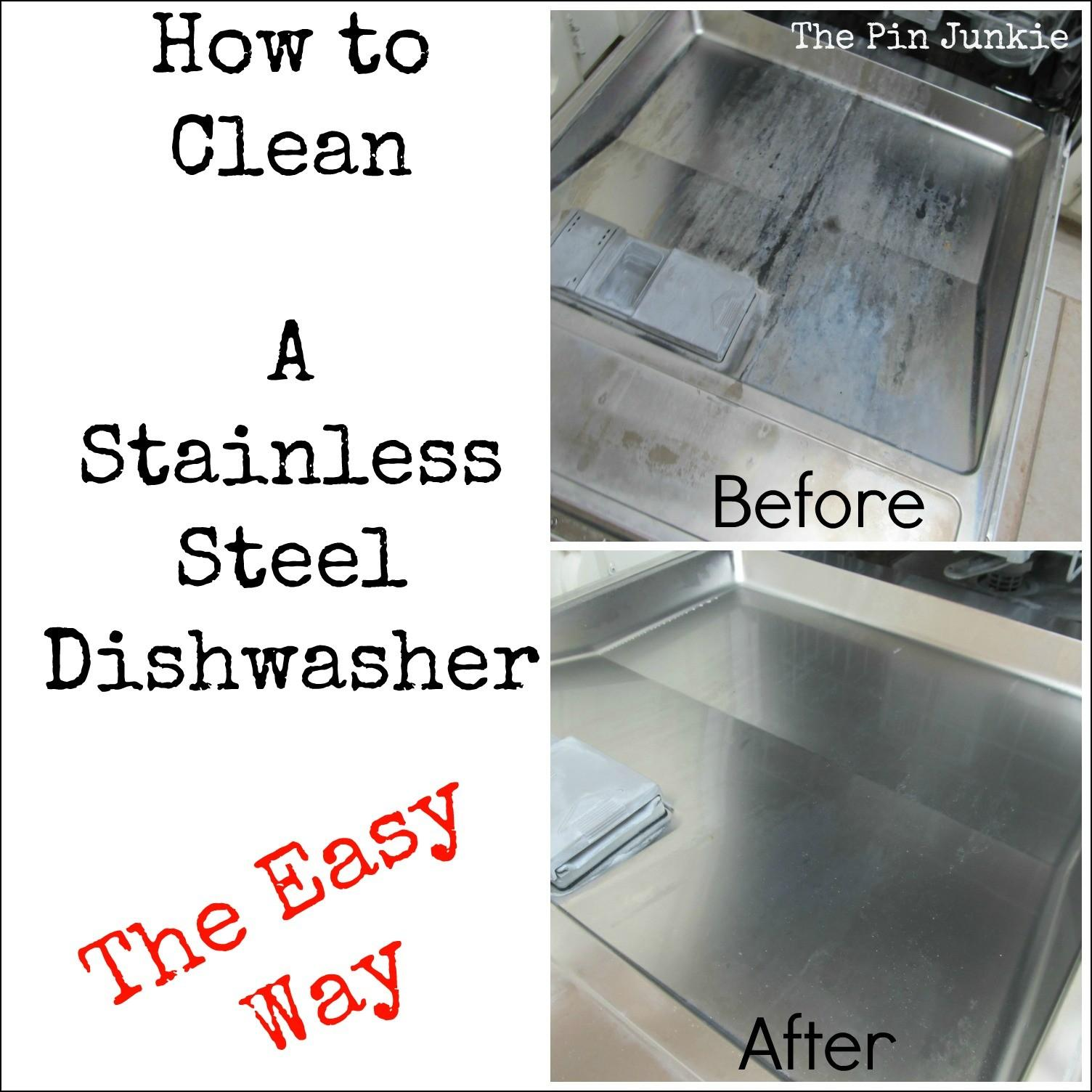 Stainless Steel Dishwasher Clean