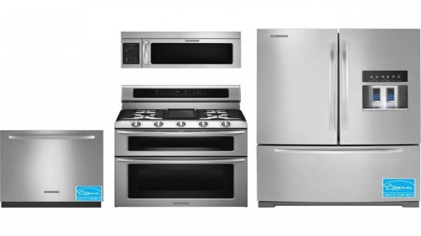 Stainless Steel Kitchen Appliance Suites Lowe Department