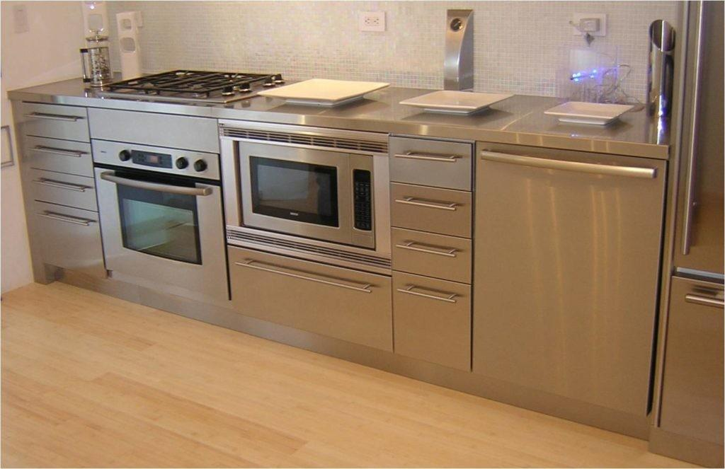 Stainless Steel Kitchen Cabinets All