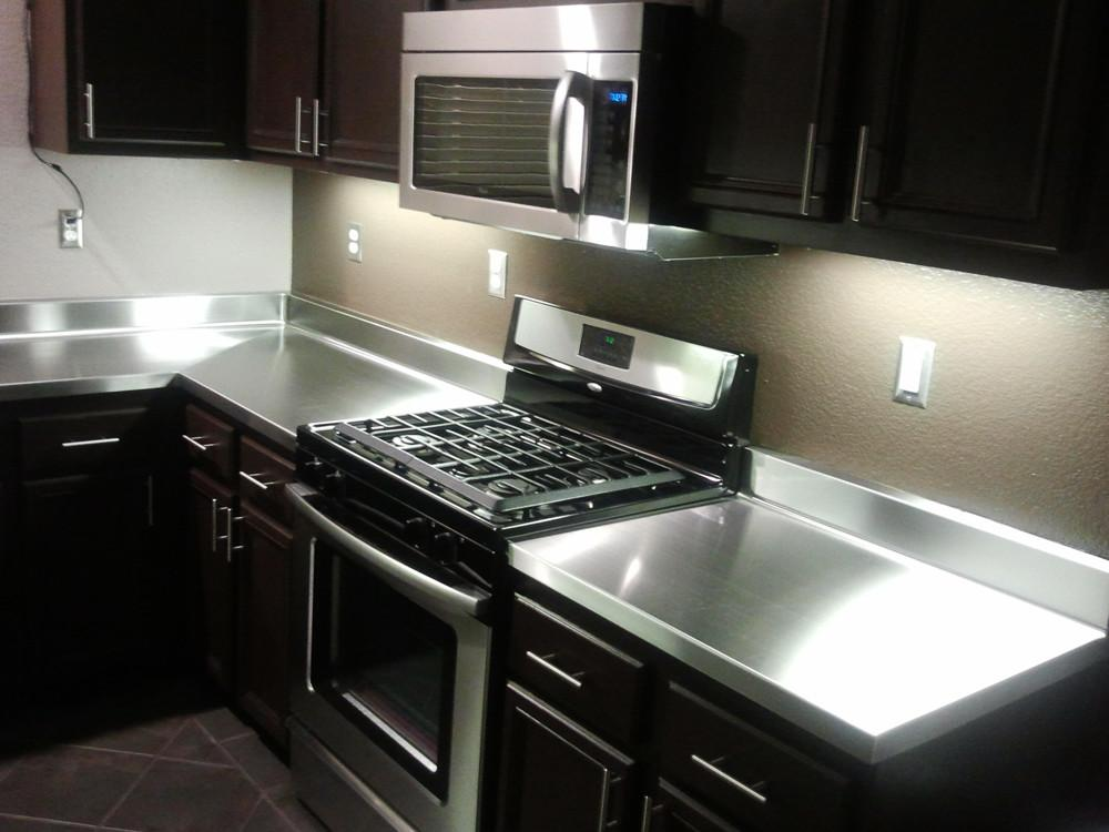 Stainless Steel Kitchen Countertops Pros Cons Eva