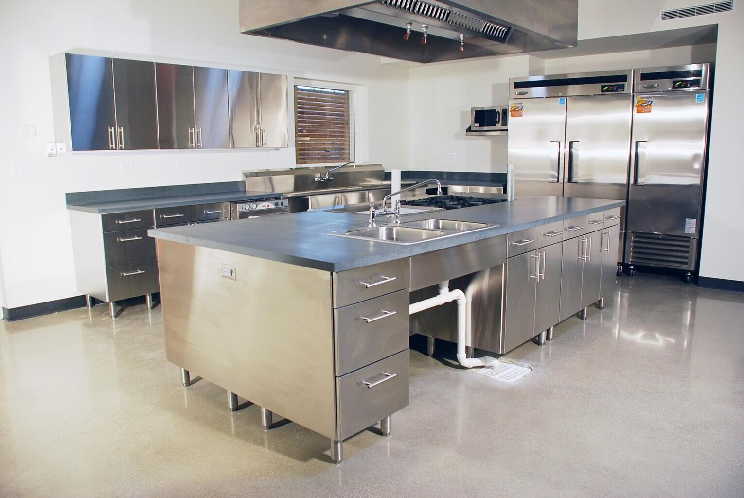 Stainless Steel Kitchen Design All House