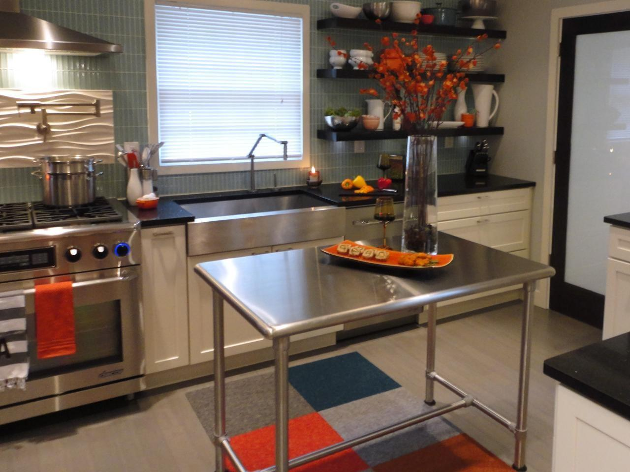 Stainless Steel Kitchen Islands