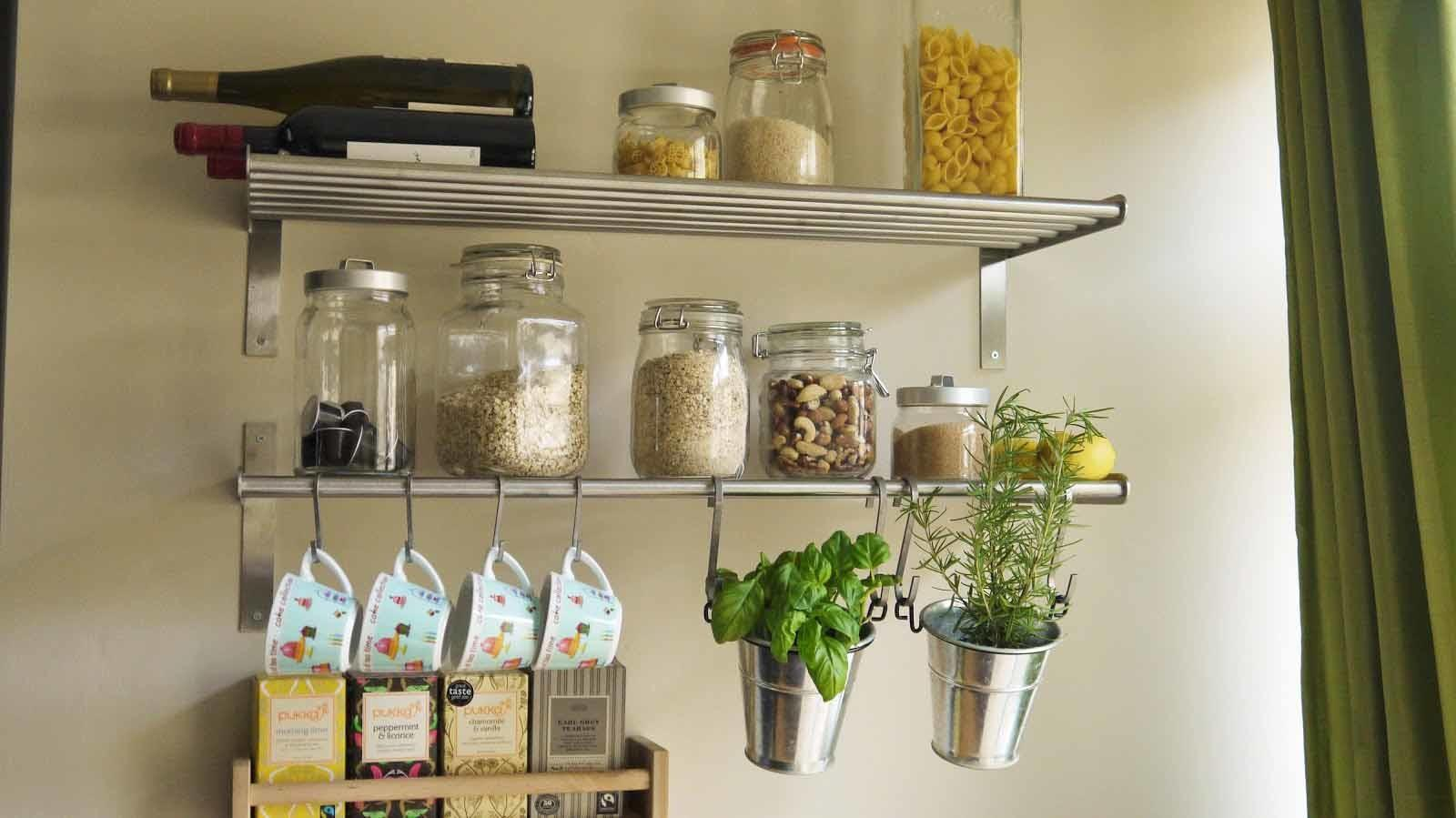 Stainless Steel Kitchen Shelving Units Narrow