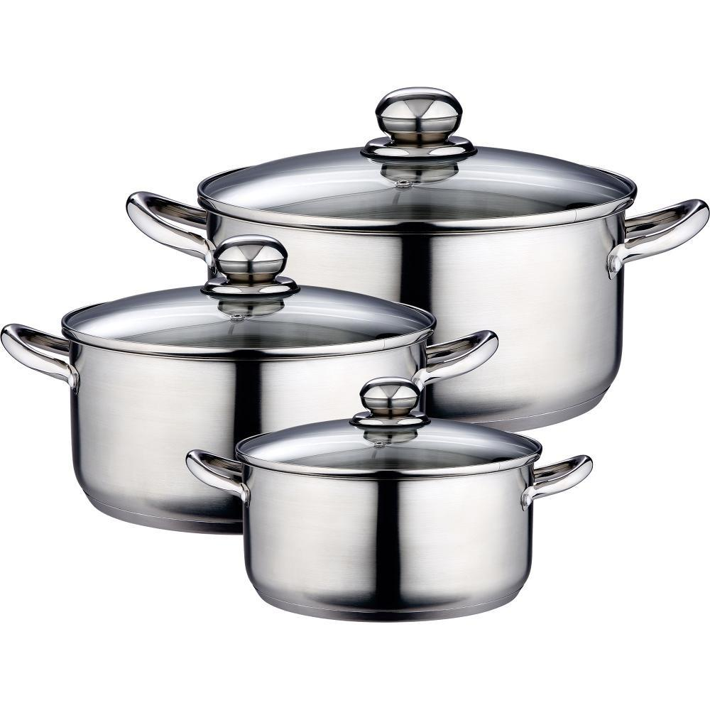 Stainless Steel Pots Pans Set