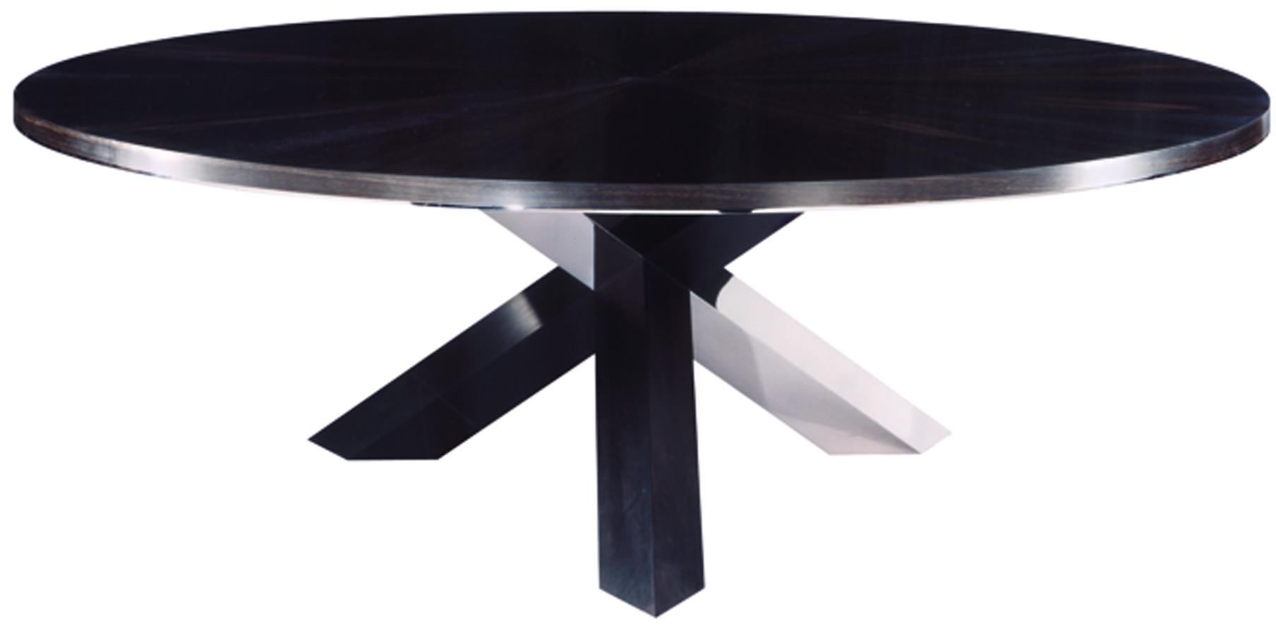 Stainless Steel Top Round Dining Table Buy