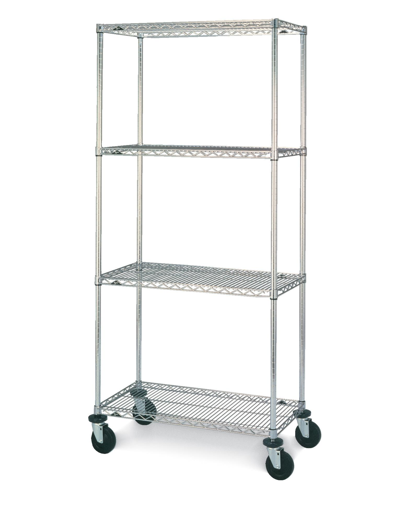 Stainless Steel Wire Shelving Super Erecta