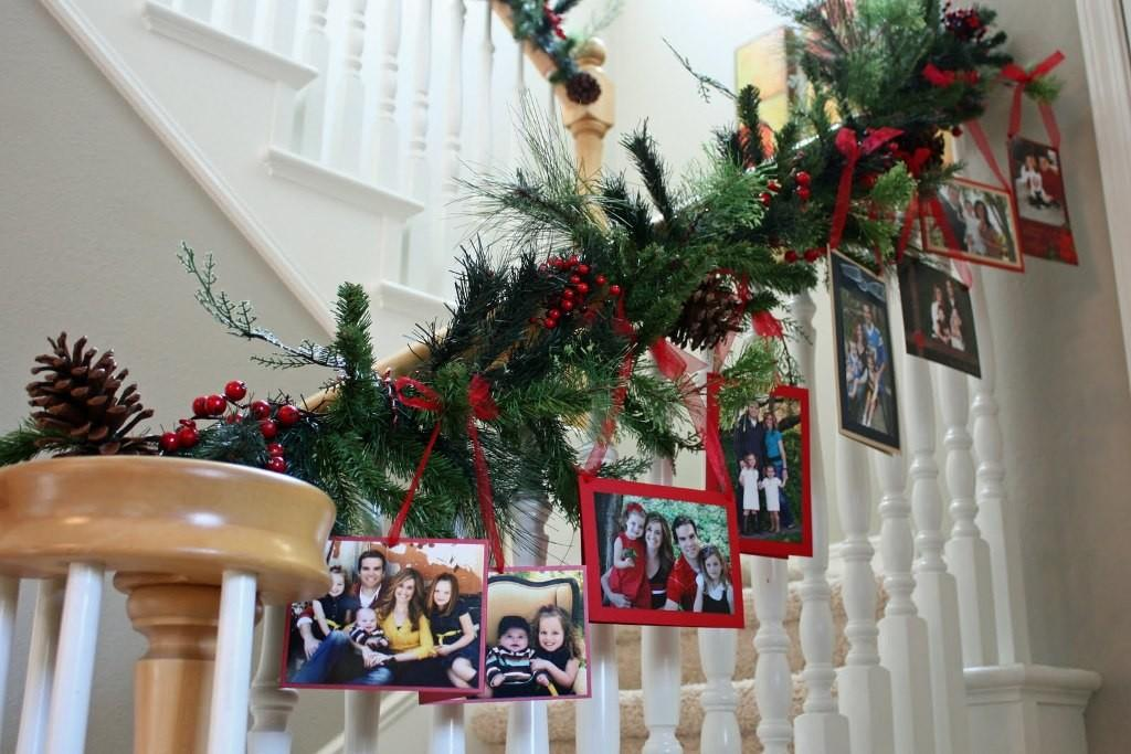 Staircase Christmas Decoration Ideas Diy Year
