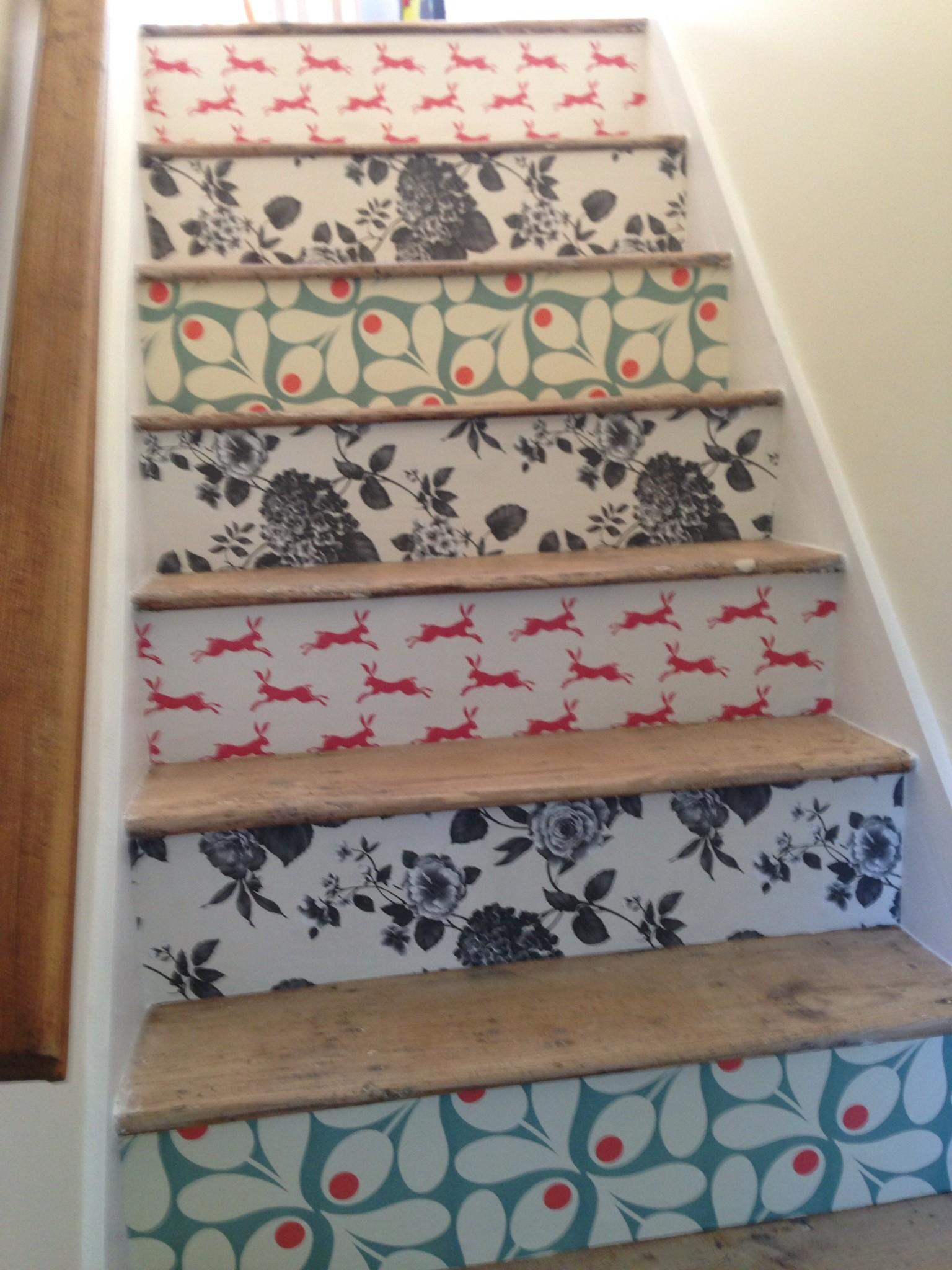 Staircase Diy Results Blog Pretty Dandy