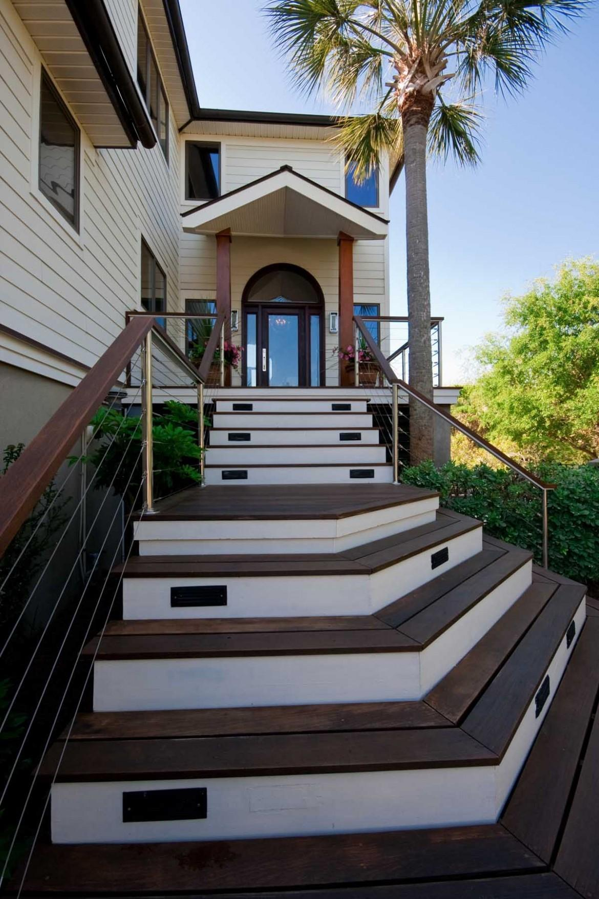 Staircase Front House
