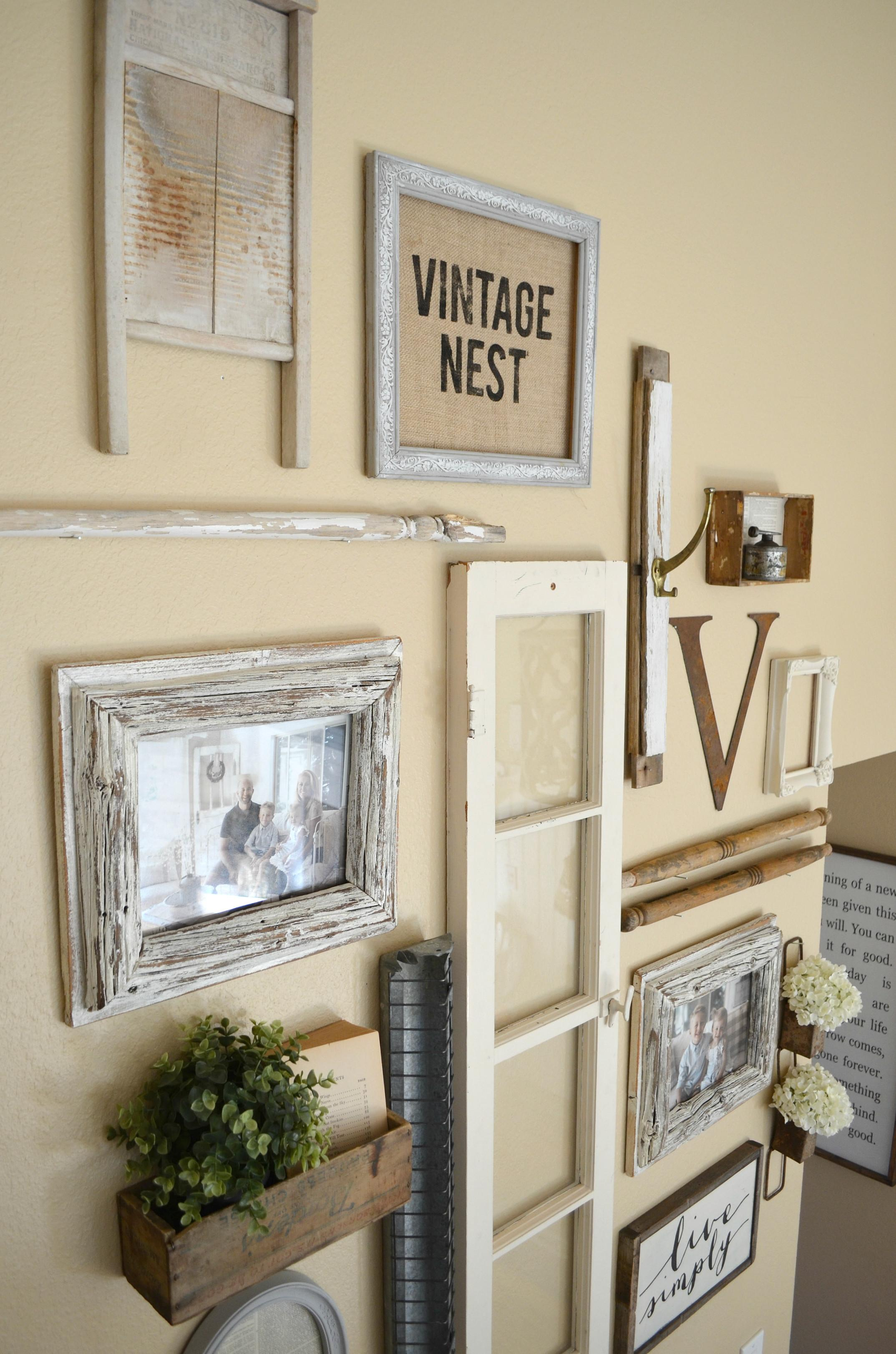 Staircase Wall Collection Vintage Treasures