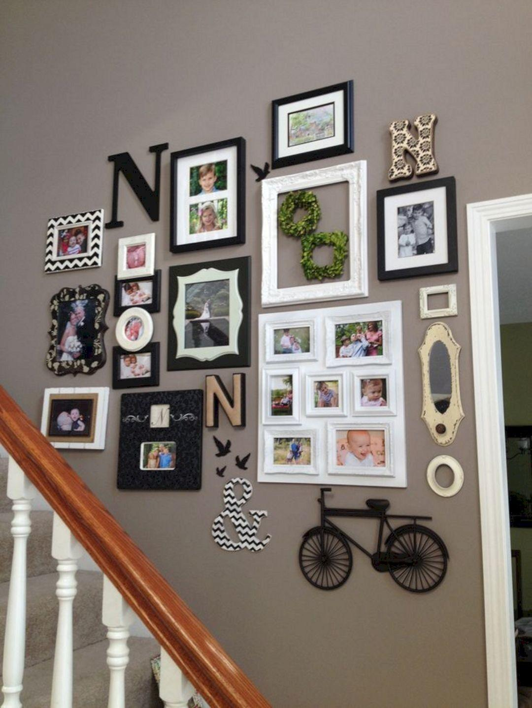 Staircase Wall Decor Ideas Design